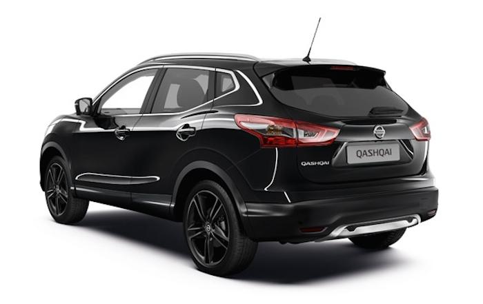 Official Nissan Qashqai Black Edition