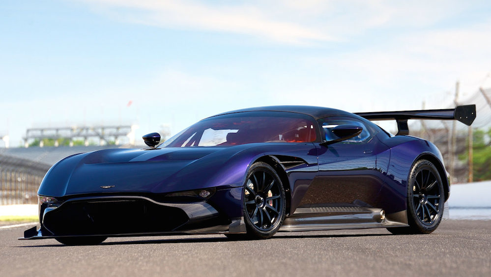 Purple Aston Martin Vulcan Set To Be Auctioned By Mecum