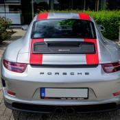 Silver Porsche 911 R 1 175x175 at Silver Porsche 911 R Is Just Eye Popping!