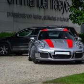 Silver Porsche 911 R 2 175x175 at Silver Porsche 911 R Is Just Eye Popping!