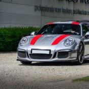 Silver Porsche 911 R 3 175x175 at Silver Porsche 911 R Is Just Eye Popping!