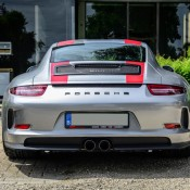 Silver Porsche 911 R 4 175x175 at Silver Porsche 911 R Is Just Eye Popping!