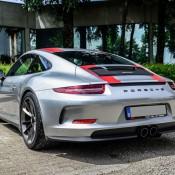 Silver Porsche 911 R 8 175x175 at Silver Porsche 911 R Is Just Eye Popping!