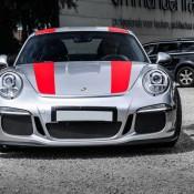 Silver Porsche 911 R 9 175x175 at Silver Porsche 911 R Is Just Eye Popping!