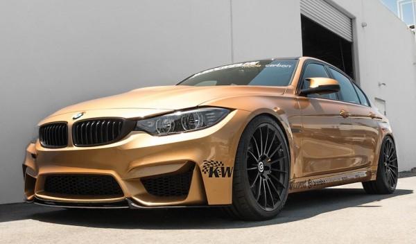 Sunburst Gold BMW M3 0 600x352 at Custom Sunburst Gold BMW M3 by EAS