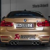 Sunburst Gold BMW M3 1 175x175 at Custom Sunburst Gold BMW M3 by EAS