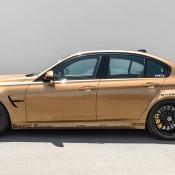 Sunburst Gold BMW M3 4 175x175 at Custom Sunburst Gold BMW M3 by EAS