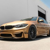 Sunburst Gold BMW M3 7 175x175 at Custom Sunburst Gold BMW M3 by EAS
