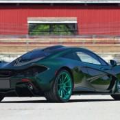 green mclaren p1 mso 8 175x175 at Green on Green McLaren P1 Hits the Auction Block
