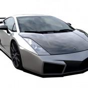 2011 Cosa Design Lamborghini Gallardo Front 175x175 at Lamborghini History and Photo Gallery