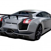 2011 Cosa Design Lamborghini Gallardo Rear 2 175x175 at Lamborghini History and Photo Gallery
