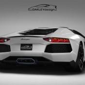 2011 Oakley Design Lamborghini Aventador LP760 2 Rear 175x175 at Lamborghini History and Photo Gallery