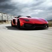 2012 Lamborghini Aventador J Rear 175x175 at Lamborghini History and Photo Gallery