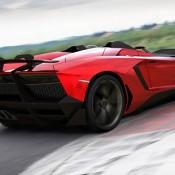 2012 Lamborghini Aventador J Rear 2 175x175 at Lamborghini History and Photo Gallery
