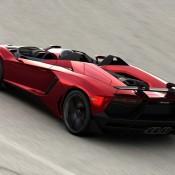 2012 Lamborghini Aventador J Rear Side 175x175 at Lamborghini History and Photo Gallery