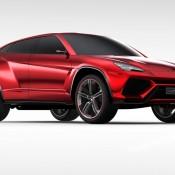 2012 Lamborghini Urus Concept Front Side 175x175 at Lamborghini History and Photo Gallery