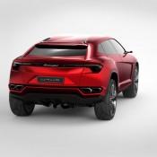 2012 Lamborghini Urus Concept Rear 175x175 at Lamborghini History and Photo Gallery