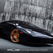 2012 Pur 6IX on Lamborghini Murcielago LP 630 Front Side 175x175 at Lamborghini History and Photo Gallery