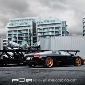 2012 Pur 6IX on Lamborghini Murcielago LP 630 Rear Side 175x175 at Lamborghini History and Photo Gallery