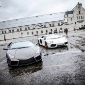 2012 SR Lamborghini Aventador Project Supremacy Front 3 175x175 at Lamborghini History and Photo Gallery