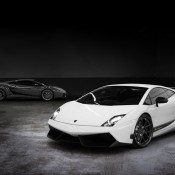 2012 Vorsteiner Lamborghini Gallardo Superleggera Front Side 2 175x175 at Lamborghini History and Photo Gallery