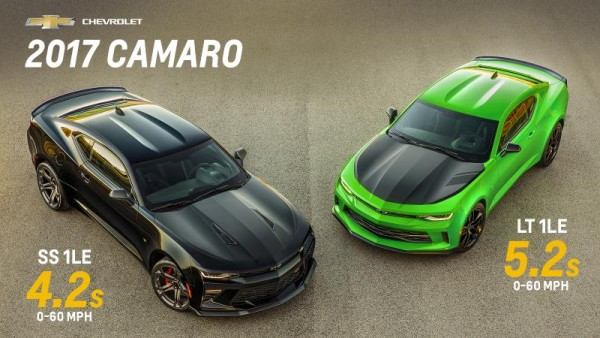 2017 Camaro 1LE 600x338 at 2017 Camaro ZL1 Pricing and Specs