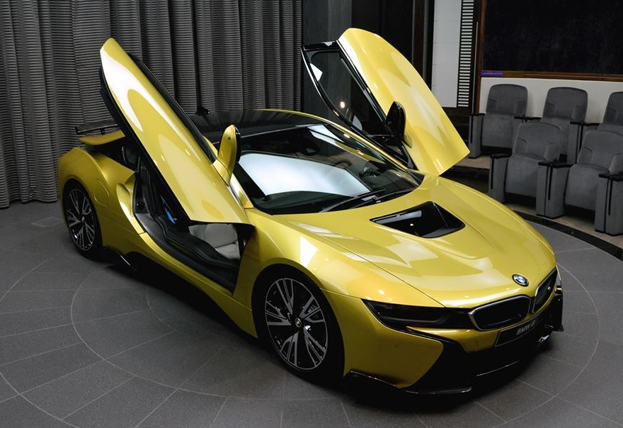 Ac Schnitzer Bmw I8 Shows Up In Austin Yellow