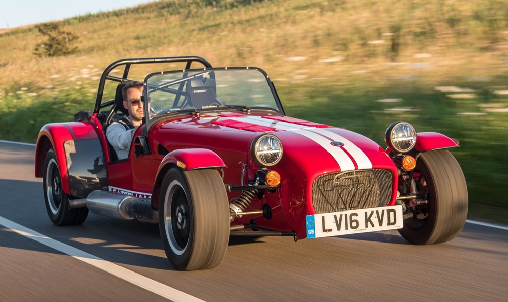 Caterham Seven 310 1 at Caterham Seven 310 Announced