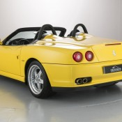 Ferrari 550 Barchetta rear side 175x175 at Ferrari 550 Barchetta and 575 Superamerica on Sale in UK