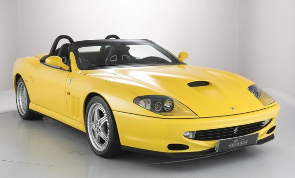 Ferrari 550 Barchetta sale 0 600x362 at Ferrari 550 Barchetta and 575 Superamerica on Sale in UK