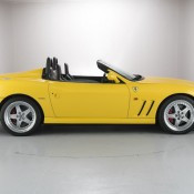 Ferrari 550 Barchetta side 175x175 at Ferrari 550 Barchetta and 575 Superamerica on Sale in UK