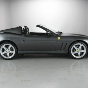 Ferrari 575 side roof down 175x175 at Ferrari 550 Barchetta and 575 Superamerica on Sale in UK