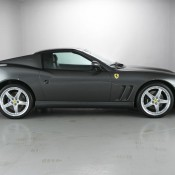 Ferrari 575 side roof up 175x175 at Ferrari 550 Barchetta and 575 Superamerica on Sale in UK