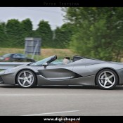 LaFerrari Aperta Grigio spot 1 175x175 at Sweet Looking LaFerrari Aperta Sighted Outside Factory