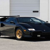 Lamborghini Countach auction 11 175x175 at Up for Grabs: Lamborghini Countach with 10K Miles