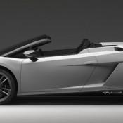 Lamborghini Gallardo LP 570 4 Spyder Side 3 175x175 at Lamborghini History and Photo Gallery