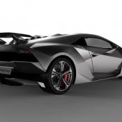 Lamborghini Sesto Elemento concept Rear 175x175 at Lamborghini History and Photo Gallery