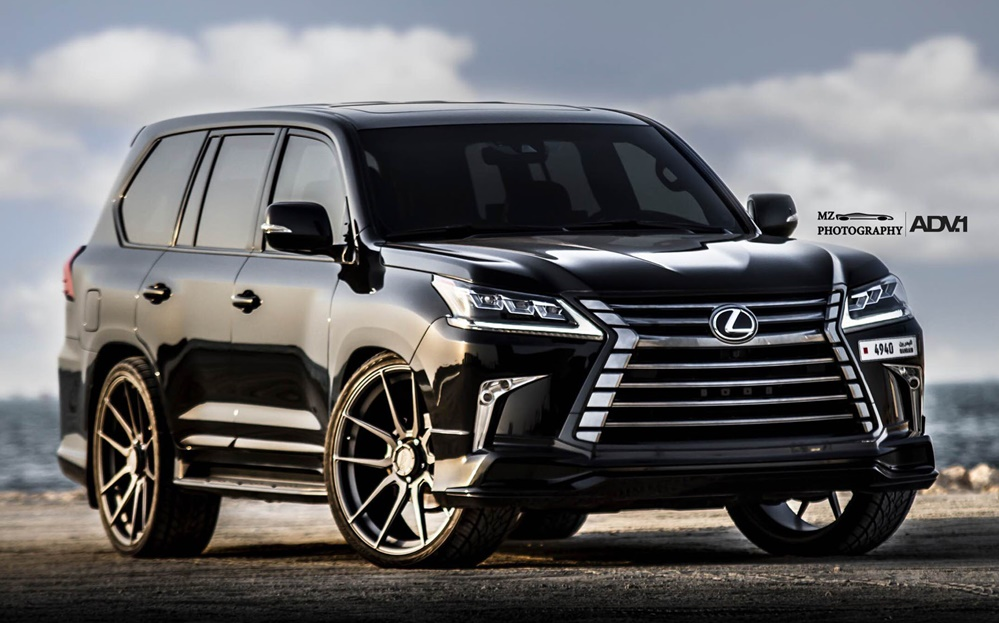 Lexus Lx570 On 26 Adv1 Wheels