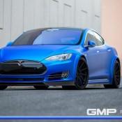 Matte Blue Tesla Model S 1 175x175 at Matte Blue Tesla Model S by GMP Performance
