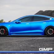 Matte Blue Tesla Model S 10 175x175 at Matte Blue Tesla Model S by GMP Performance