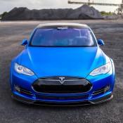 Matte Blue Tesla Model S 11 175x175 at Matte Blue Tesla Model S by GMP Performance