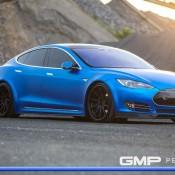 Matte Blue Tesla Model S 12 175x175 at Matte Blue Tesla Model S by GMP Performance