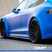 Matte Blue Tesla Model S 3 175x175 at Matte Blue Tesla Model S by GMP Performance