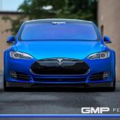 Matte Blue Tesla Model S 5 175x175 at Matte Blue Tesla Model S by GMP Performance