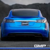 Matte Blue Tesla Model S 6 175x175 at Matte Blue Tesla Model S by GMP Performance