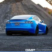 Matte Blue Tesla Model S 8 175x175 at Matte Blue Tesla Model S by GMP Performance