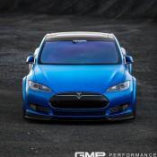 Matte Blue Tesla Model S 9 175x175 at Matte Blue Tesla Model S by GMP Performance