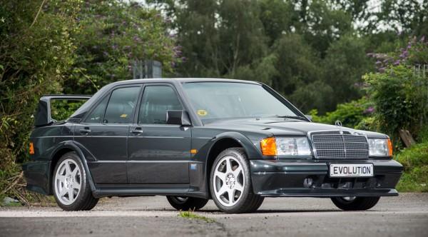 Mercedes 190E Evo II 1 600x332 at Up for Grabs: Virtually New Mercedes 190E Evo II