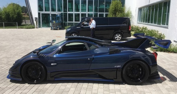 Pagani Zonda Mileson 0 600x318 at Pagani Zonda Mileson Edition Is Yet Another One Off