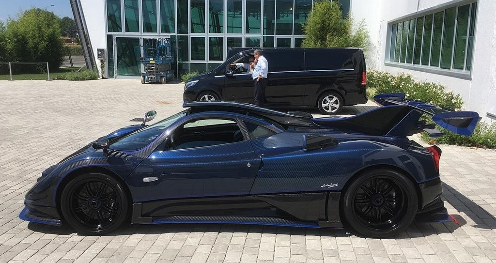 Pagani Zonda Mileson 0 at Pagani Zonda Mileson Edition Is Yet Another One Off